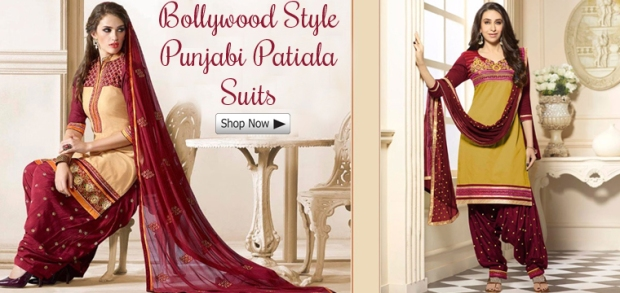 6a7a9c8450 Latest Designer Patiala Salwar Suits Collection for Wedding and Party
