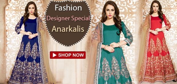 9aef787975 Indian Fashion Designer Anarkali Dress Online At Lowest Price India